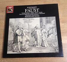 Coffret 2 LP Schumann Faust Bernhard Klee Szenen aus Goethe EMI dig 1982 EXC+