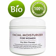Facial Moisturizer for Women - 4 Oz | Cream and Wrinkle Treatment | 100$ NATURAL
