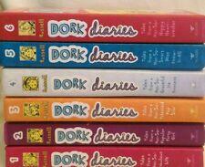 Dork Diaries Set 1-6 Rachel Renee Russell Readers 9-13 Nikki J. Maxwell