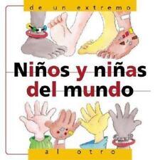 Ninos y Ninas del Mundo: De un Extremo al Otro (Barron's Educational-ExLibrary