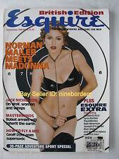 MADONNA, GEORGIANNA ROBERTSON, JACK NICHOLSON Sep 1994 British Esquire mag MINT!