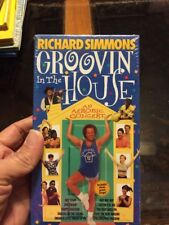 NEW! Richard Simmons - Groovin' in the House (VHS, 1998)
