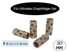 SET 4 x Graphit Lager für Ultimaker 2. Versand gleicher Tag