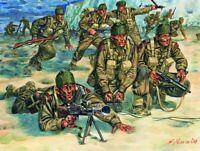 Italeri 1:72 - 6064, WWII Britische Kommandotruppe, Modellbausatz unbemalt