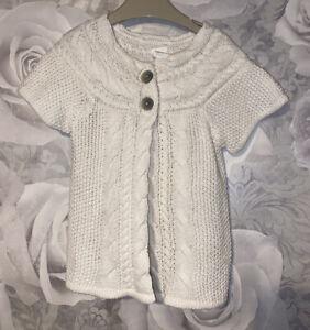 Girls Age 12-18 Months - Short Sleeved Cardigan