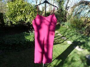 BNWT Marks and Spencer silky nightdress size 18 sweet dreams  RRP £20 POSTFREE2U