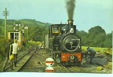 Welshpool & Llanfair No.2 The Countess Llanfair Caereinion unused 1970s postcard