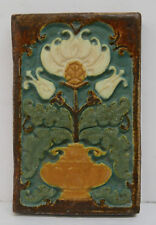 Malibu California Polychrome Floral Vintage Tile