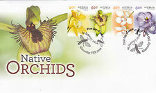 2014 Australian Native Orchids (Gummed Stamps) FDC