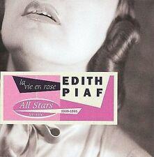 EDITH PIAF La Vie En Rose - All Stars Series 1935-1951