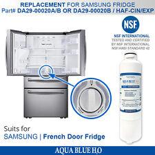 NEW DA29-00020B REPLACEMENT FRIDGE FILTER for Samsung model SRF680CDLS AQUA BLUE