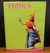 EXOTICA  SERIES 4 PICTORIAL CYCLOPEDIA OF EXOTIC PLANTS  VOLUME 2 1985 12th ed