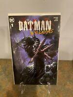 Batman who laughs #1 Clayton Crain NM