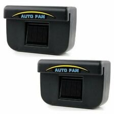 Auto Cool Solar Powered Air Cooler Ventilation Set of 2