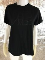 SALE Women's NARS Black Fitted T-Shirt, Size S, Pre-Owned
