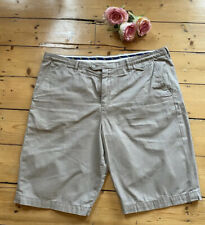 BEN SHERMAN Chino SHORTS size 38 Waist XL Beige AUTHENTIC trousers