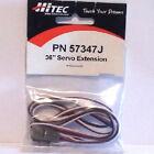 """Connector Servo Extension Lead 36 """" HITEC Art Pn 57347J"""