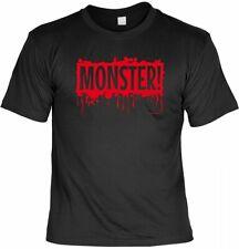 Halloween t-shirt-Monster-aterradora proverbios camisa para la fiesta de Halloween