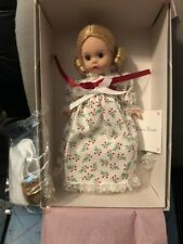 Christmas Morning 8'' Madame Alexander Doll Never Been out of the box