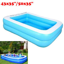 Inflated Family Swimming Pool Garden Outdoor Summer Inflatable Paddling Pools