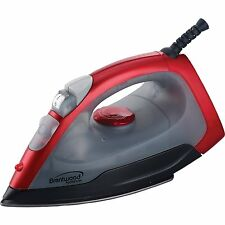 BRAND NEW Brentwood MPI-54 Non-Stick Steam Iron, Red