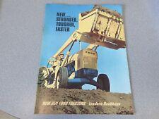 Ford 4500, 3400, 3500, 4400 Tractor Loader Backhoe Sales Brochure  lw