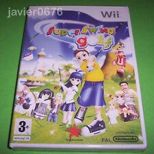 SUPER SWING GOLF NUEVO Y PRECINTADO PAL ESPAÑA NINTENDO Wii