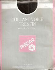 A VOIR !!! collant voile T3 Phildar colori NOIR fin 15 den