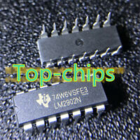 10 PCS LM2902N DIP-14 LM2902 2902 AMPLIFIERS IC NEW
