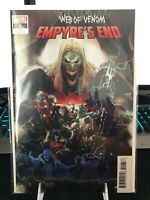 WEB OF VENOM EMPYRES END #1 RB SILVA 1:50 VARIANT 2020 MARVEL COMICS NM+ IN HAND