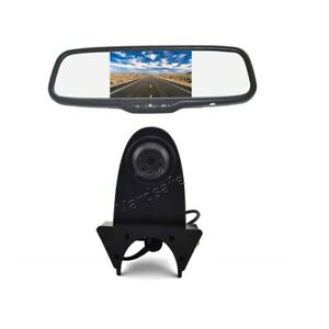 Reverse Backup Camera & Rear view Mirror Monitor for MB Sprinter/VW Crafter /Bus