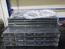 Cisco Ccna Ccnp Lab Starter Kit De 3 X 2801 + 2 X Ws-c2950-24 + Cables