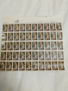 #2026 20 cent Madonna and Child Christmas Mint Sheet MNG