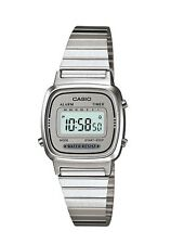 Casio Classic Watch * LA670WA-7 Retro All Silver Slim Steel for Women COD PayPal