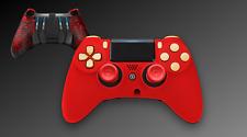 Scuf Impact Gaming ps4 Controller pad rojo-oro anodizado
