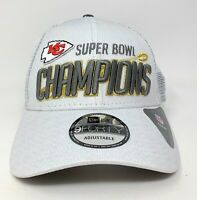 New Era Kansas City Chiefs Super Bowl LIV Champions Adjustable Hat - White
