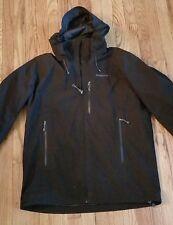 Patagonia mens black Piolet Gore tex jacket Large