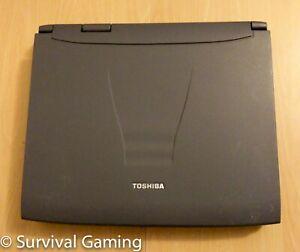 Toshiba Retro Satellite Pro 4200 Series Intel Laptop Windows UNTESTED