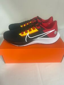 Kansas City Chiefs Nike Air Zoom Pegasus 38 Shoes Size 12 New Box In Hand NFL
