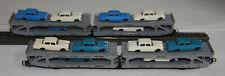 Lima H0 - 9050 - zwei 3 Achsige Autotransporter beladen mit 12 Mercedes Benz