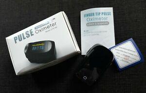 Saturimetro da dito professionale, Pulse Oximeter fingertip C101A2, ossimetro.