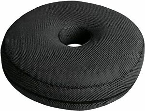 Donut Ring Cushion Memory Foam Tailbone Pressure Relief Coccyx Support Pillow UK