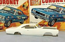 MPC 1968 DODGE CORONET R/T SUPER BEE VINTAGE KIT#1768-200 68 HT NOS BODY ONLY