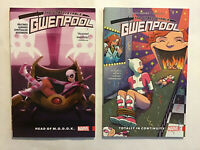 Unbelievable Gwenpool Vol 2 3 5 TPB (2016 Marvel) Set Hastings OOP Out of Print
