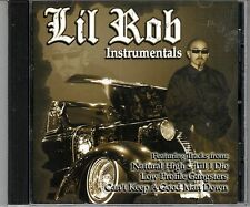 LIL ROB- INstrumentals  CD NEW  Chicano Rap