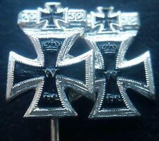 ✚7415✚ German post WW2 1957 pattern Iron Cross Repeat Clasp First 2nd Class pin