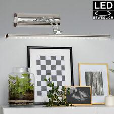 LED Design Pictures Luminaire Wall Spotlight Chrome Living Room Lamp Swiveling