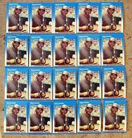 1987 - Fleer #416 - Tony Gwynn - San Diego Padres - HOF - 20ct Card Lot
