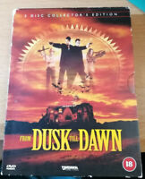 From Dusk Till Dawn (DVD, 2001) 2 Discs Collector's Edition
