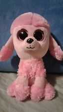 """Ty Beanie Boo - 6"""" - Princess the Poodle - 2011 - No Hang Tag"""
